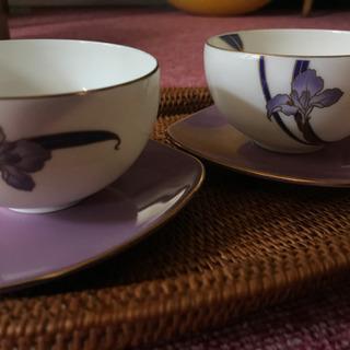 ❇︎ 花柄茶碗 2脚 ❇︎