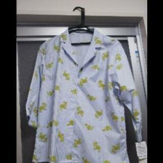 【新品】ストライプ 花柄♡七分袖 トップス シャツ ブラウスの画像