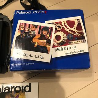 レア 可動確認済 Polaroid スペクトラE ポラロイドカメラ
