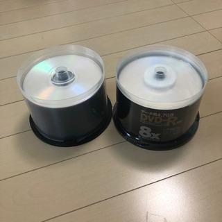 DVD-R 100枚 データ用 新品未使用