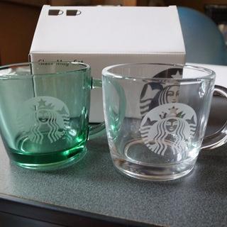 スターバックスコーヒー グラスマグカップ 新品未使用☆