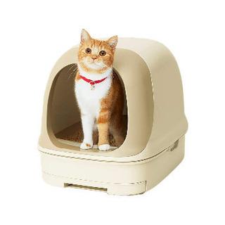 猫トイレ、マット、チップ。三点セット
