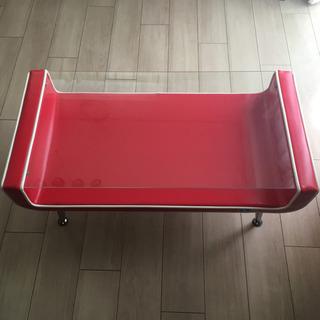 ローテーブル 赤