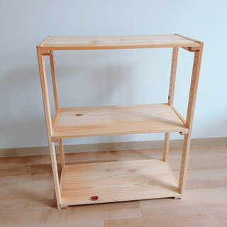 【販売】木製ラック 美品