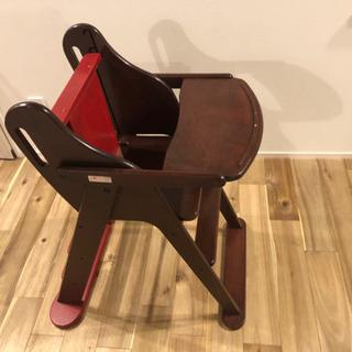 ピープルjibunde chair ハイチェア