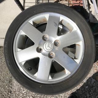 タイヤ付きホイル処分いたします。