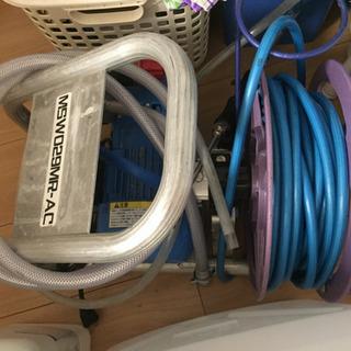エアコン洗浄用高圧洗浄機+ガン+30mホース