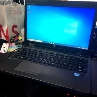 【hp】Corei5搭載Office2019認証済みノートパソコン