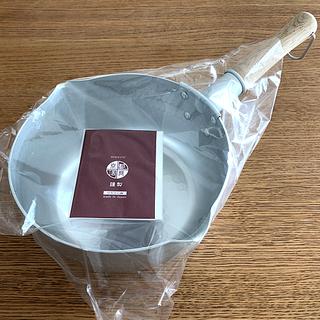 【新品箱入】京都活具 雪平鍋(ゆきひらなべ)20cm日本製 IH対応