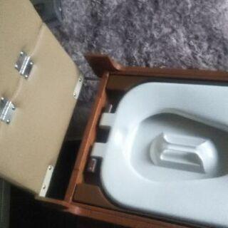 (未使用) 介護用便座 安寿 ポータブルトイレ