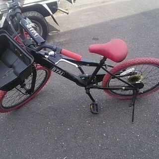 BTM・6段式チェンジギア付き22インチ自転車訳有り品