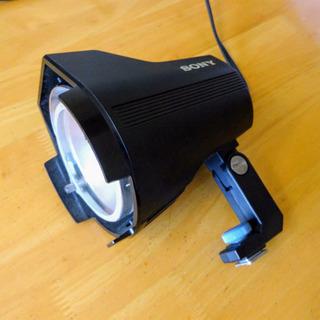 SONY ビデオカメラライト HVLー300