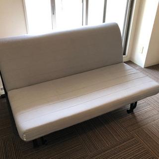 イケア IKEA セミダブル  ソファベッド カバー付き 1