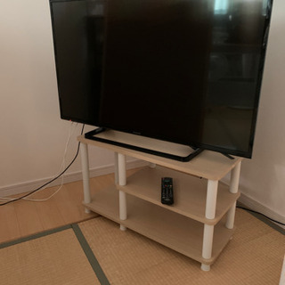 Panasonic43型TV(TH-43D300)TV台付き