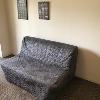 IKEA イケア セミダブル ソファベッド カバー付き 02