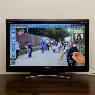 [只今取引中][完動品]2010年型 32インチ テレビ SHR...