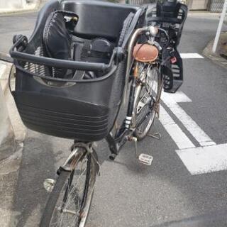 子供乗せ自転車 リア&フロント付き