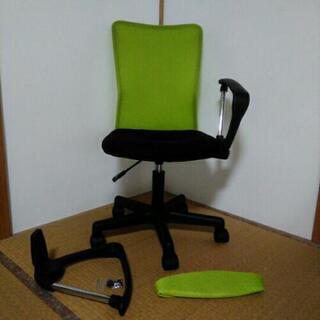 商談成立 オフィスチェア ライムグリーンの画像