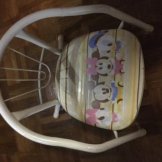 ベビーディズニー まめ椅子 汚れあり