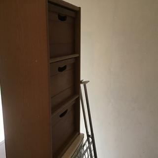 木製3段ラック(ラスト1セット)