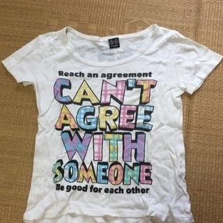 016 ラメロゴTシャツ