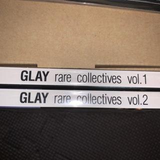 〈未開封〉GLAY rare collectives vol.1&2
