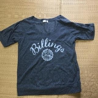 028 グレーラメTシャツ