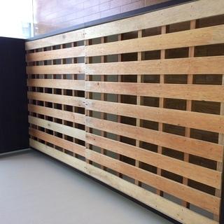 木製スノコシングルベッド