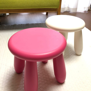 【IKEA】子供用イス MAMMUT マンムット