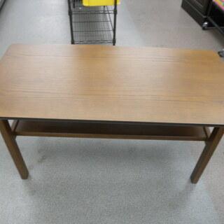 ウサミ木工 木製 ローテーブル センターテーブル ブラウン 幅9...