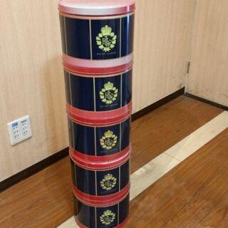 ラルフローレン 無料 スチールカン ブリキ缶 ヴィンテージ ディスプレイ 5個セットの画像