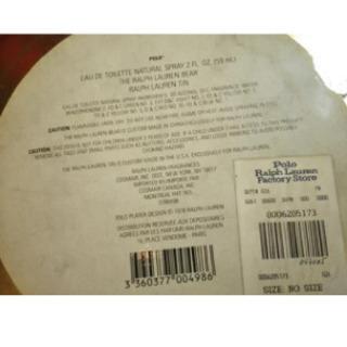 ラルフローレン 無料 スチールカン ブリキ缶 ヴィンテージ ディスプレイ 5個セット - 売ります・あげます