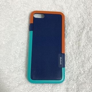iPhoneケース(7,8,SE2002)オレンジ/青/水色