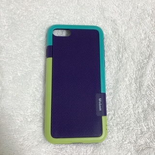 iPhoneケース(7,8,SE2002)緑/紫/青緑