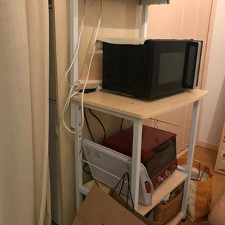 【無料】レンジ台 キッチン収納【差し上げます】
