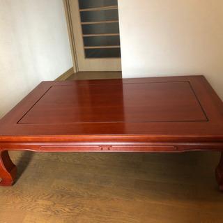 カリモク家具のローテーブルをお譲りします。
