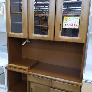 0530-07 食器棚 レンジボード 118幅 福岡糸島唐津