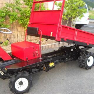 築水GH211・油圧ダンプ運搬車・希少な4WD・農業機械・果樹園...