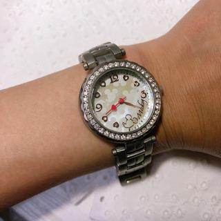 ミッキーの腕時計(電池切れ&箱&取説なし)