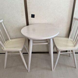★ホワイトテーブル★お譲りします。