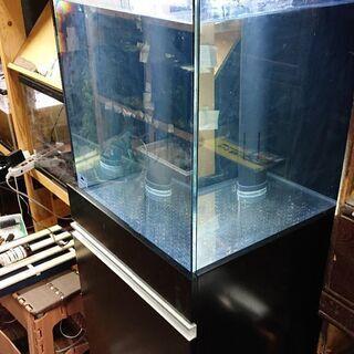 特価‼️オーバーフロー水槽(高級感のあるガラス) オルカ製45×...