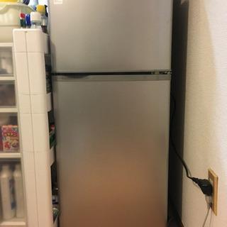 【お譲り】1人暮らし用2ドア冷蔵庫 109ℓ【町田】