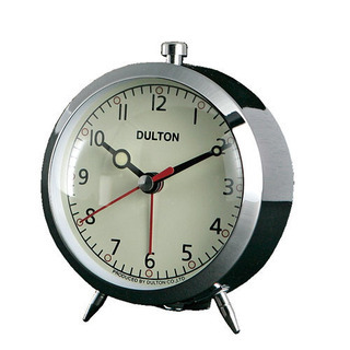 DULTON 目覚し時計(人気のクロームカラー!)