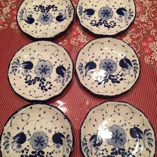 輸入雑貨 陶器平皿
