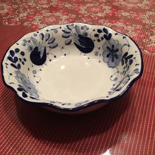 輸入雑貨 陶器深鉢