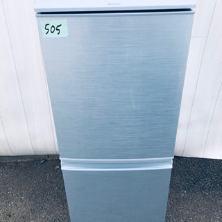 ️高年式‼️505番 SHARP✨ノンフロン冷凍冷蔵庫✨SJ-D...
