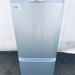 ️510番 三菱✨ノンフロン冷凍冷蔵庫✨MR-P15S-S‼️