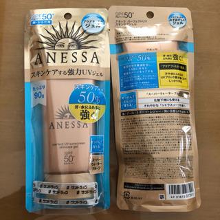 「資生堂 アネッサ パーフェクトUV スキンケアジェル(90g)」×
