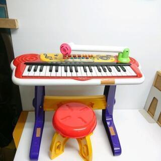 子供 オモチャ ピアノ マイク