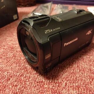【美品】4K Panasonic ハンディカメラ HC-VX985M